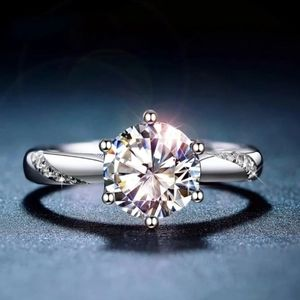 Gorgeous Moissanite Engagement Ring.  S9